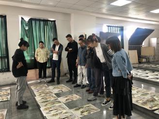 联考将至  专家先来 ——嘉兴市美术专家团队来秀水高中指导美术教学工作